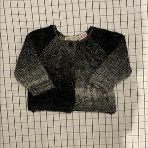 Zara wool baby sweater
